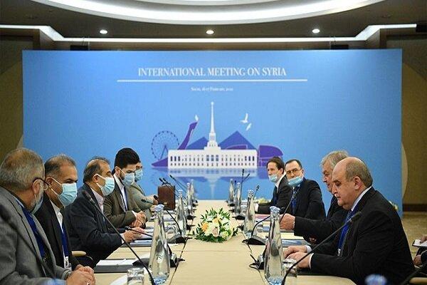İran ve Rus heyeti Soçi'de bir araya geldi