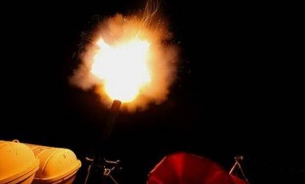 Iran, Russia stage shooting aerial targets at night