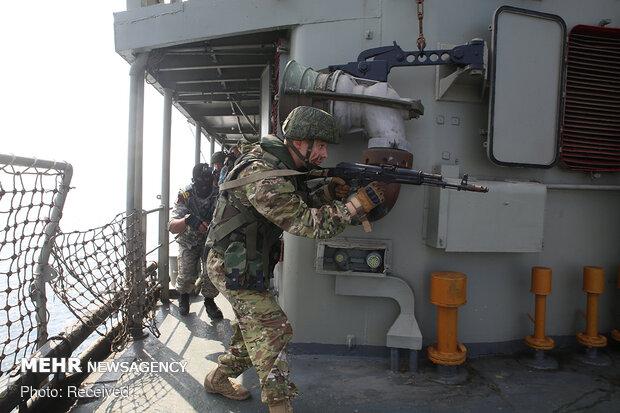 اجرای عملیات آزادسازی کشتی ربوده شده