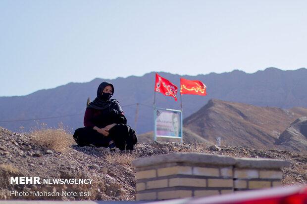 مرز خدمت در 20 کیلومتری افغانستان