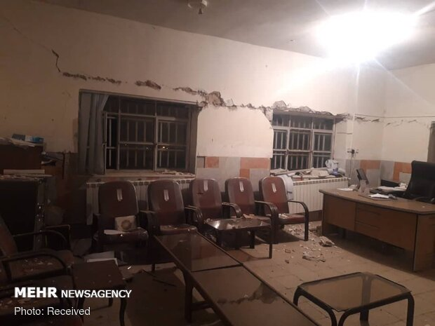 VIDEO: Aftermath of earthquake in Iran's Sisakht