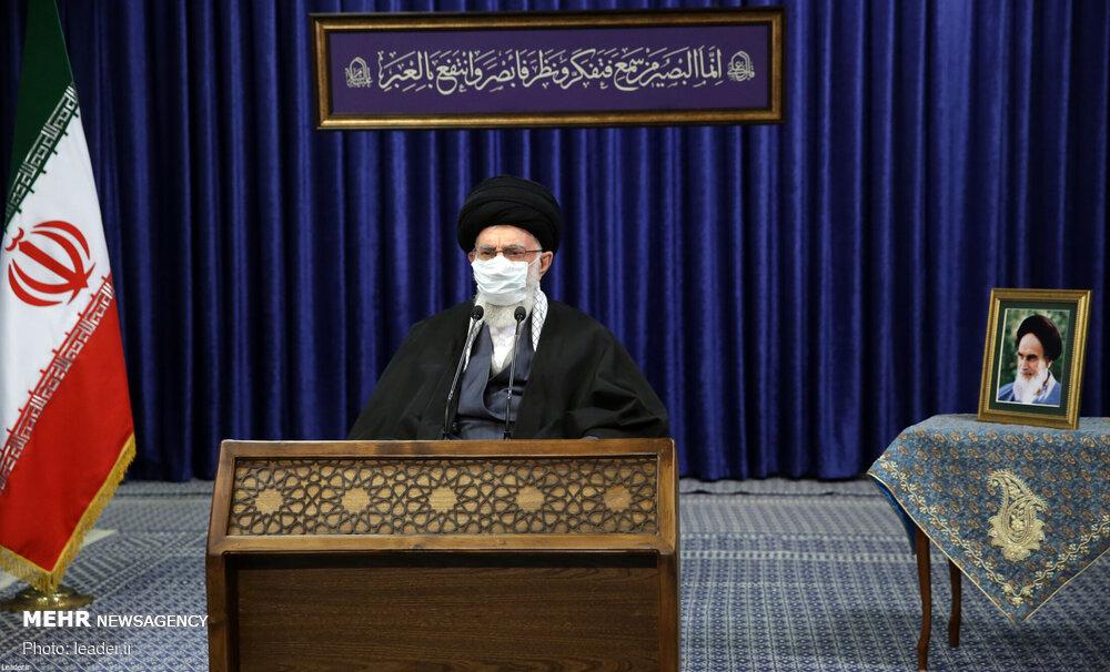 قائد الثورة الإسلامیة يلتقي أبناء محافظة أذربيجان الشرقية