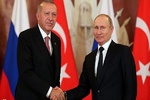 Erdoğan, Putin ile Kudüs'ü görüştü