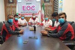 تیمهای عملیاتی هلال احمر استان بوشهر در آمادهباش کامل هستند