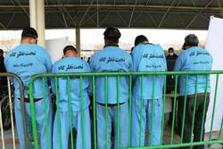 نمایشگاه کشفیات نیروی انتظامی در مشهد