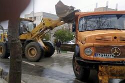 ۱۰۰ واحد مسکونی در سی سخت آوار برداری شد
