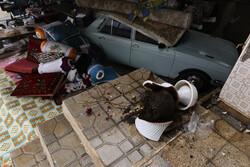 منازل آسیب دیده از زلزله سی سخت