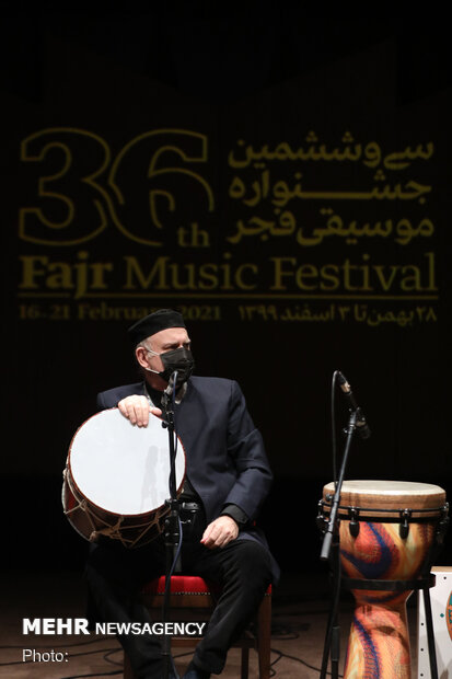 Second day of Fajr Music Festival