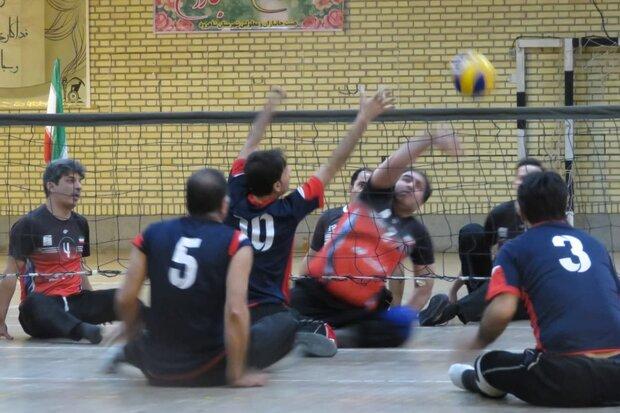 مسابقات والیبال نشسته لیگ دسته یک کشور در شاهرود آغاز شد