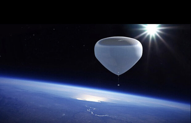 Spanish company to send tourists to space on helium balloon