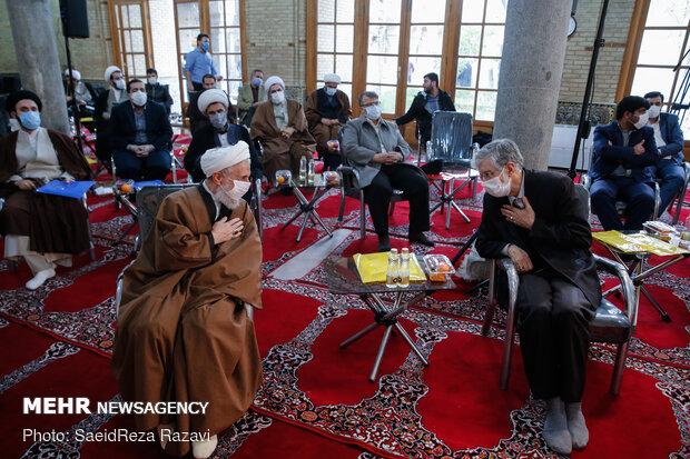 آیین افتتاح کتابخانه تخصصی و نمایشگاه دائمی گفتمان علمی انقلاب اسلامی