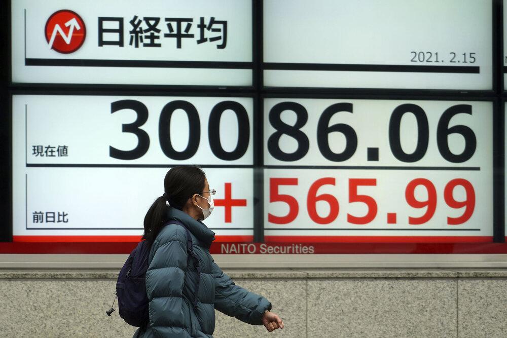 نوسان سهام آسیایی/ سقوط سنگین سهام ژاپن