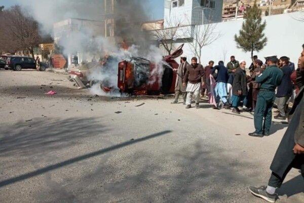 انفجار مین در کابل سه نفر را زخمی کرد