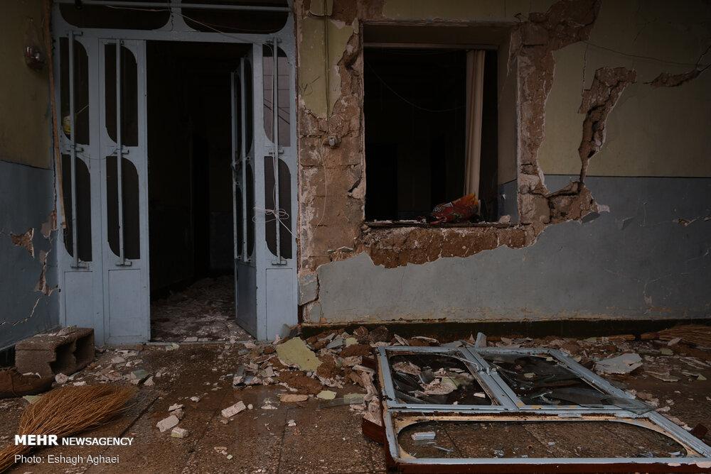 خسارت زلزله به منازل ۳۰۷ خانواده مددجوی سیسختی