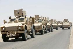 اعزام نیرو و تجهیزات به جبهه مأرب در یمن