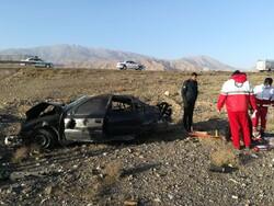 واژگونی خودرو سمند در کاشان با ۱۵ سرنشین/۳ نفر فوت کردند