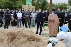 مراسم خاکسپاری پدر وزیر اطلاعات