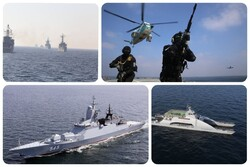 تاکتیکهای رزمایش مشترک با روسیه/ صحنهگردانی ایران در اقیانوس هند