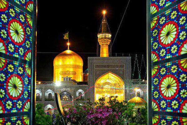 حرم رضوی میں امام مہدی (عج) کی ولادت باسعادت کی مناسبت سے نقارے بجائے گئے
