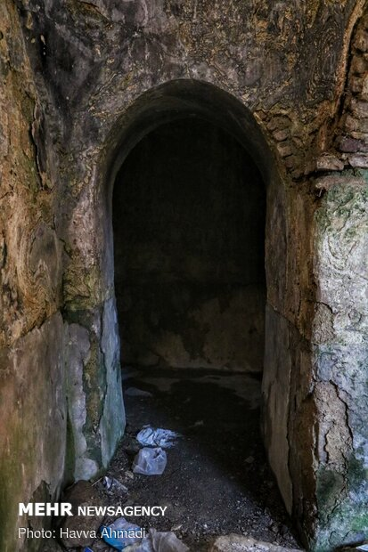 حمام تاریخی سرخکلا تپه
