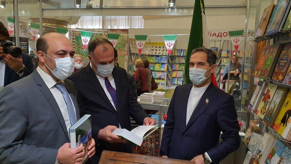 Iran's pavillion at Minsk Intl. Book Fair gets noticed