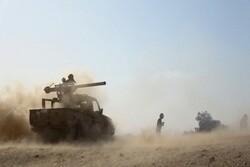 دفع حملات نیروهای وابسته به ریاض به الطلعه الحمراء در  نزدیکی مأرب