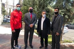 رئیس فدراسیون تکواندو بلغارستان تماشاگر ویژه لیگ برتر ایران
