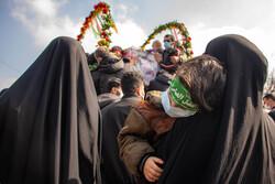 تشییع پیکر مطهر شهید مصطفی نوروزی در ساری