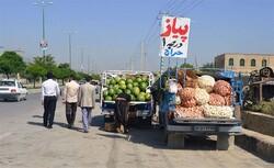 آغاز ساماندهی دستفروشان حاشیه خیابانها در قزوین