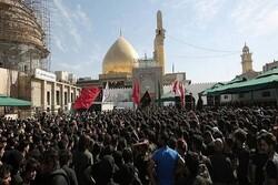 ۳ میلیون عراقی به حرم امامین عسکرین(ع) مشرف شدند