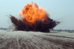 انفجار یک بمب در نزدیکی کارخانه سیمان کربلا