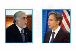 عبدالله عبدالله: افغانستان خواهان حصول صلح از راه مذاکره است
