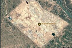 حمله راکتی به یک پایگاه هوایی در عراق/ برخاستن ستونی از دود