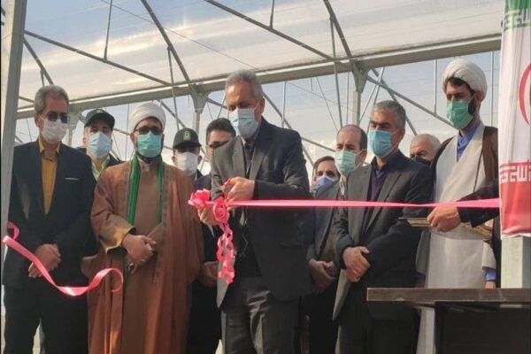 افتتاح پروژه ۹۲۳ هکتاری استقرار سیستمهای نوین آبیاری در کردستان