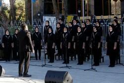 فرزندان ایران «یار دبستانی» را اجرا کردند