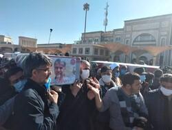 فرماندهان شهید تفحص در قم تشییع شدند