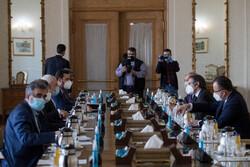 Meeting of Zarif, Grossi in Tehran