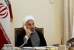 Ruhani ile Johnson telefonda görüştü