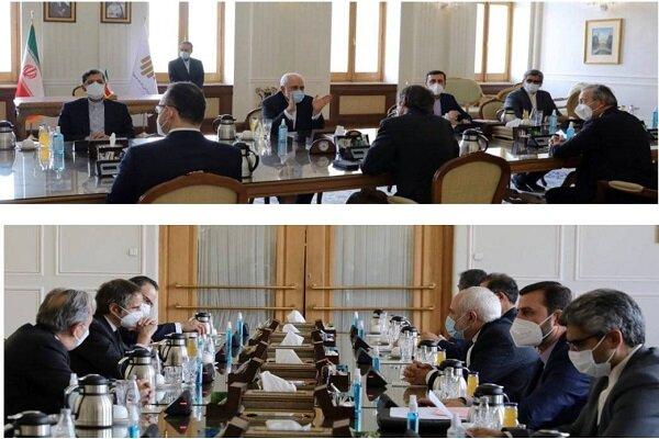 Iranian FM, IAEA chief discuss bilateral coop.