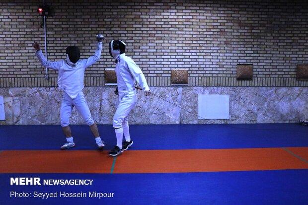 Iran's National Fencing Team held in Mashhad