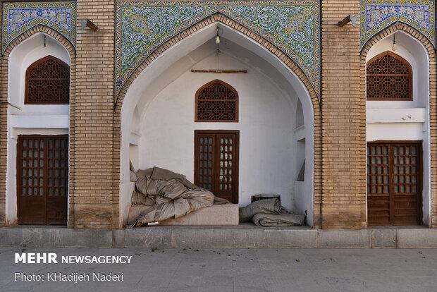 حال دل این روزهای مسجد شعیا خوب نیست