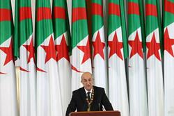 رئیس جمهور الجزایر از تجدید ساختار کابینه دولت خبر داد