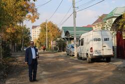 خیابان عشق آباد؛ نزدیک به تقاطع ماکسیم گورکی