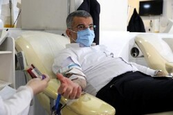 کاهش آمار اهدای خون در ایام کرونا/درخواست از چهره های مردمی