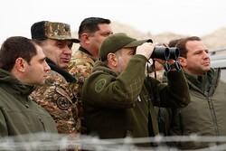 مخالفت رئیس جمهوری ارمنستان با برکناری رئیس ستاد مشترک ارتش