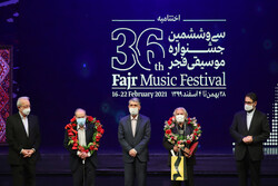 Closing ceremony of 36th Fajr Music Festival