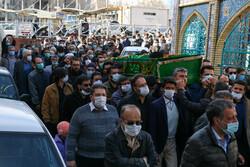 مرحوم آیت اللہ سید محمد حسین حسینی زابلی کی تشییع جنازہ