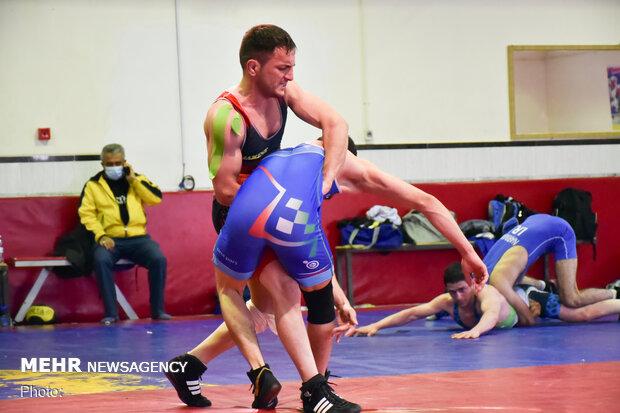 Iranian athletes preparing for World Deaf Wrestling C'ship