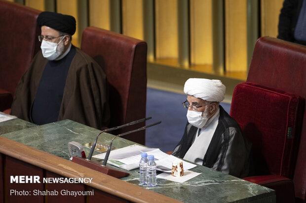 سخنرانی آیتالله احمد جنتی رئیس پنجمین دوره مجلس خبرگان رهبری