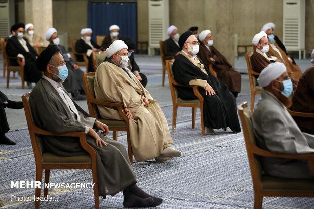 دیدار رئیس و اعضای مجلس خبرگان با رهبر معظم انقلاب